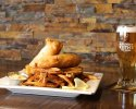 English Style Beer Battered Haddock