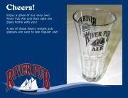 River Pub Ale Glass